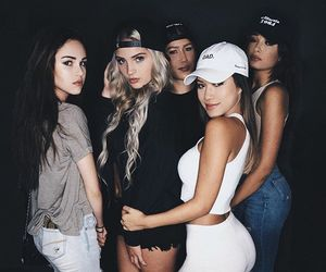 girls, squad, and friends image