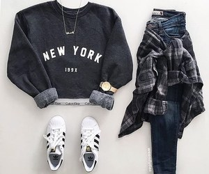 flannel, skinnyjeans, and outfits image