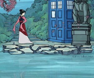 doctor who, mulan, and disney image