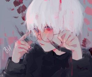 anime, boy, and tokyo ghoul image