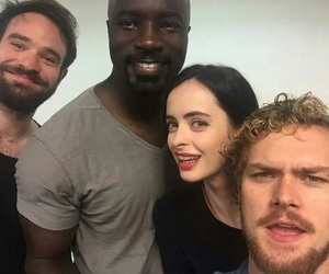 daredevil, kristen ritter, and the defenders image