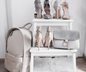 bag, heels, and love image