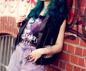 beautiful, cool, and blue hair image