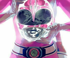 power rangers, pink, and pink ranger image