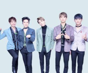 blue, Jonghyun, and key image