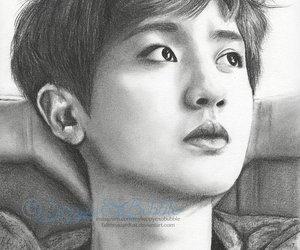 exo, fan art, and chanyeol image