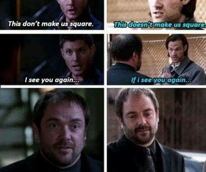 crowley, funny, and jared padalecki image