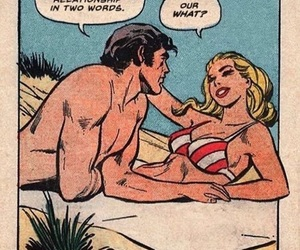 beach, cartoon, and relationships image