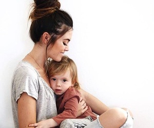 baby and mommy image