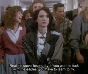 Heathers, quotes, and winona ryder image