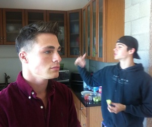 dylan o'brien, colton haynes, and teen wolf image