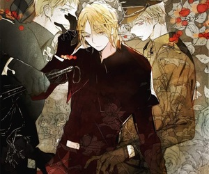 hetalia, aph france, and aph prussia image