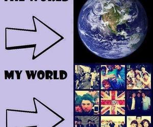 one direction, My World, and 1d image