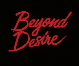 black, red, and desire image