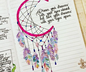quotes, dreamcatcher, and art image