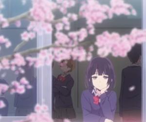 anime, girl, and luxury image