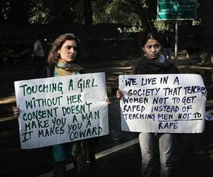 man, rape, and women image