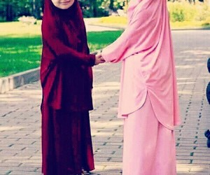 islamique and jilbab image