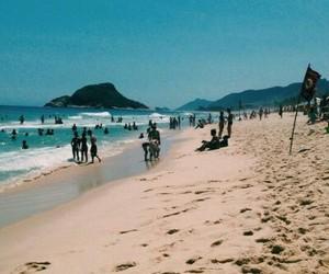 beach, mar, and praia image