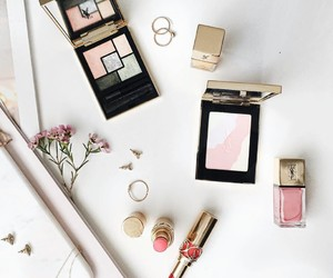 cosmetics, luxury, and pink image
