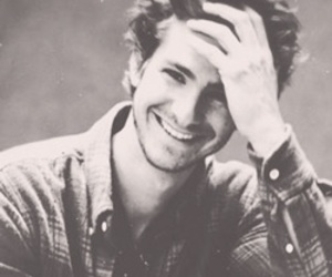 black and white, icon, and andrew garfield image