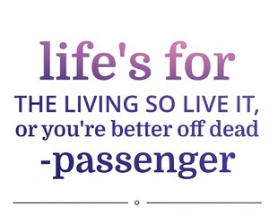 passenger and quote image