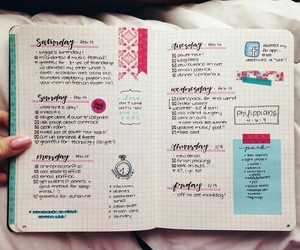 college, inspiration, and notebook image