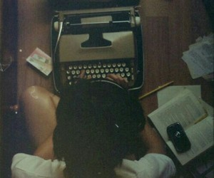 vintage, book, and hipster image