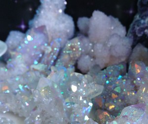 crystal, glitter, and aesthetic image