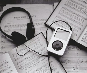 music, headphones, and song image