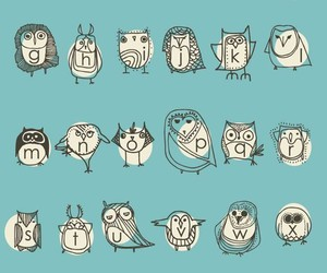 owl, illustration, and art image