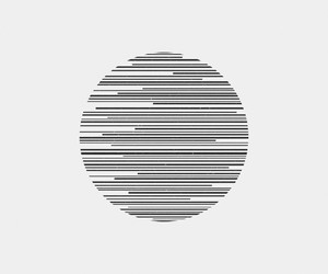black, geometric, and minimal image