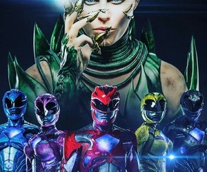 movie, power rangers, and 2017 image
