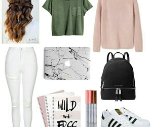 clothing, hair, and outfit image