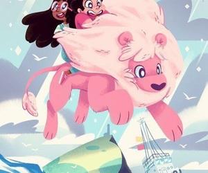 steven universe and lion image