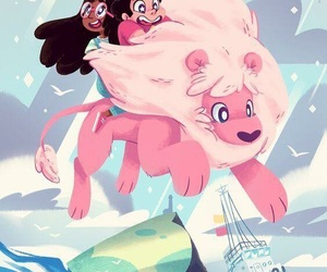 steven universe and lion image