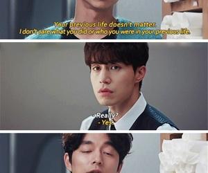 goblin, Korean Drama, and quote image