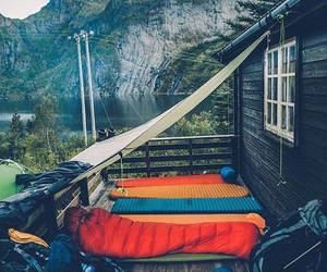 cabin, cold, and wonderful image