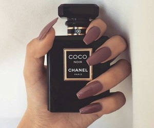 coco, chanel, and nails image