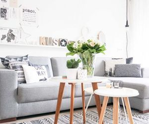 home, scandinavian style, and living room image