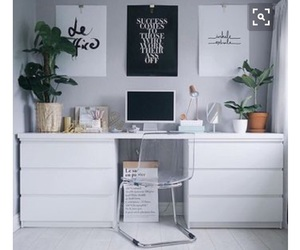 desk and poster image
