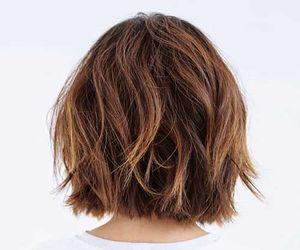 hair, white, and short hair image