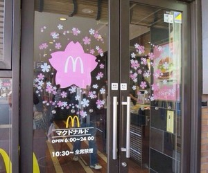 McDonalds, japan, and aesthetic image