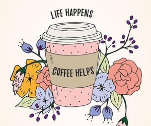 coffee, life, and art image