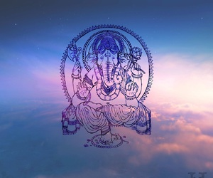 peace, sky, and elephant image