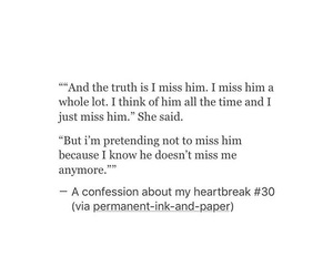 heartbreak, quote, and love image