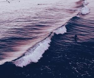 purple, theme, and ocean image