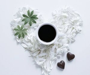 bouquet, coffee, and flowers image