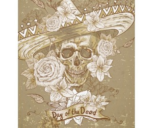 art, artwork, and day of the dead image