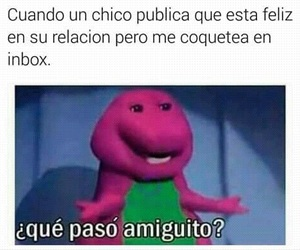 barney, frases, and humor image